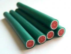 Acheter Cane pastèque - en pâte polymère - 0,99€ en ligne sur La Petite Epicerie - Loisirs créatifs