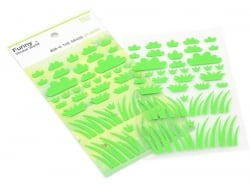 Felt stickers - Grass - 2 sheets