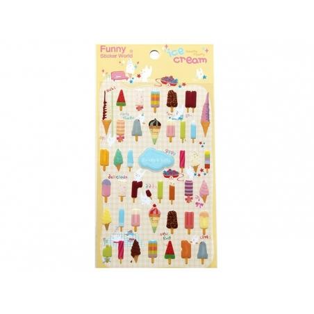 Acheter Stickers Sorbets d'été - 2,29€ en ligne sur La Petite Epicerie - Loisirs créatifs
