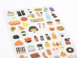 Stickers Dans Mes placards  - 1
