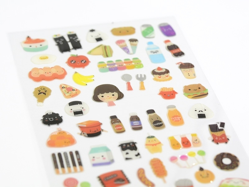 """In my cupboards"" stickers"