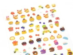 """Cupcake factory"" stickers"
