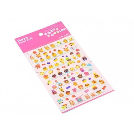 """""""Cupcake factory"""" stickers"""