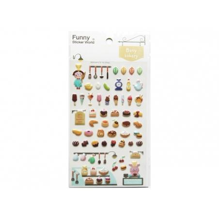 Bakery stickers