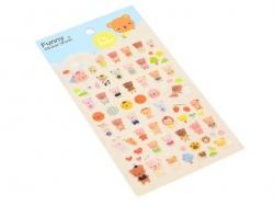 Stickers bébé nounours