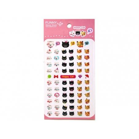 Acheter Stickers Chat mignon - 2,29€ en ligne sur La Petite Epicerie - Loisirs créatifs