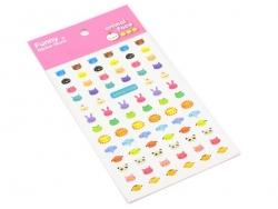 Stickers animaux mignons