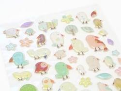 Stickers jolis moineaux