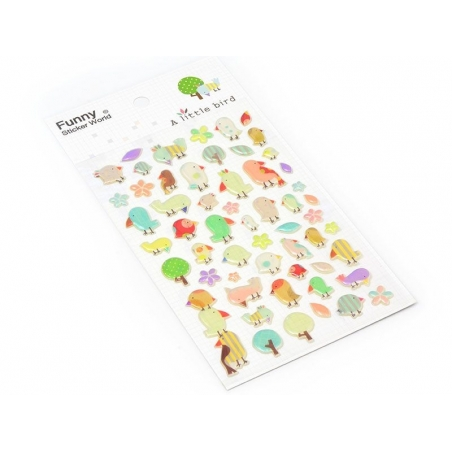 Beautiful sparrow stickers