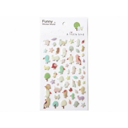 Acheter Stickers jolis moineaux - 2,29€ en ligne sur La Petite Epicerie - Loisirs créatifs