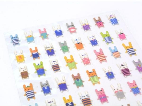 Acheter Stickers lapinous - 2,29€ en ligne sur La Petite Epicerie - Loisirs créatifs