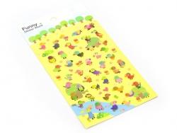 Acheter Stickers perroquets colorés - 2,29€ en ligne sur La Petite Epicerie - Loisirs créatifs