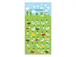 Stickers poules - les cocottes