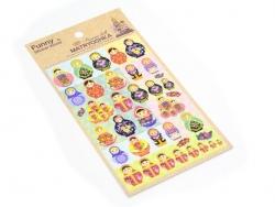 Stickers belles matrioshkas