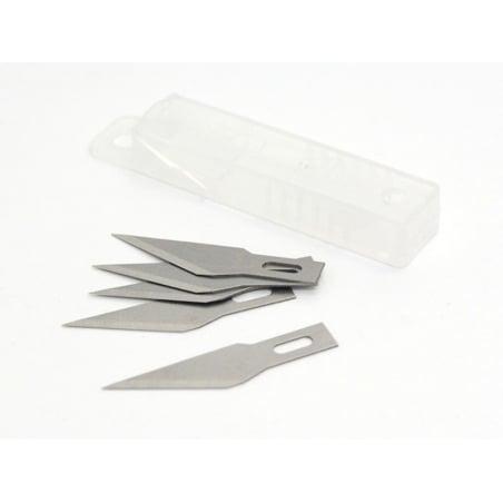 Cutter scalpel : 5 lames de rechange Rico Design - 3