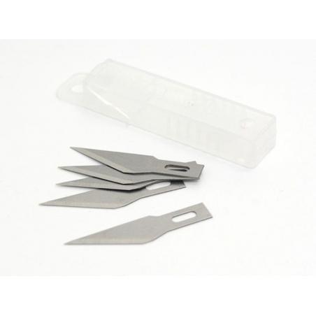 Cutter / Scalpel: 5 spare blades