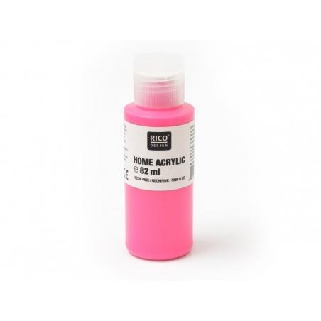 Acheter Peinture acrylique Rose fluo - 82 ml - 5,60€ en ligne sur La Petite Epicerie - Loisirs créatifs