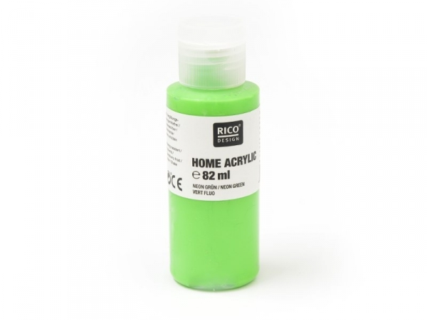 Acheter Peinture acrylique Vert fluo - 82 ml - 5,60€ en ligne sur La Petite Epicerie - Loisirs créatifs