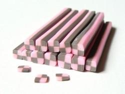 Acheter Cane bonbon damier en pâte fimo  - 0,99€ en ligne sur La Petite Epicerie - 100% Loisirs créatifs