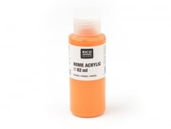 Orange acrylic paint - 82 ml