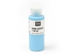 Turquoise acrylic paint - 82 ml