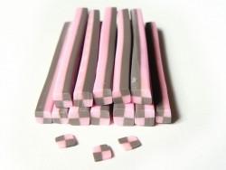 Acheter Cane bonbon damier en pâte fimo - 0,49€ en ligne sur La Petite Epicerie - Loisirs créatifs