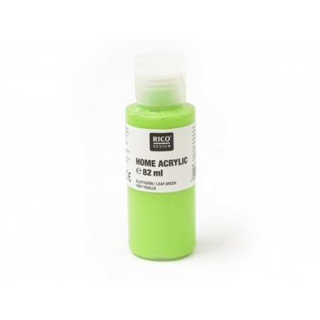 Leaf-green acrylic paint - 82 ml