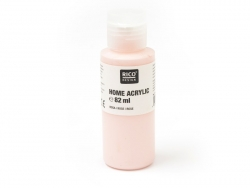 Pink acrylic paint - 82 ml