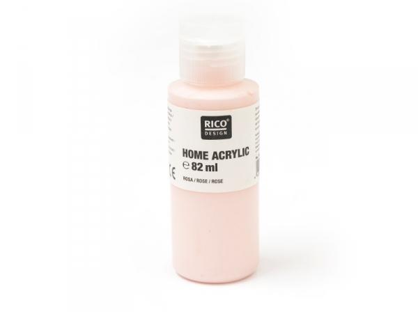 Peinture acrylique Rose - 82 ml
