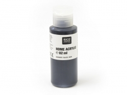 Black acrylic pain - 82 ml