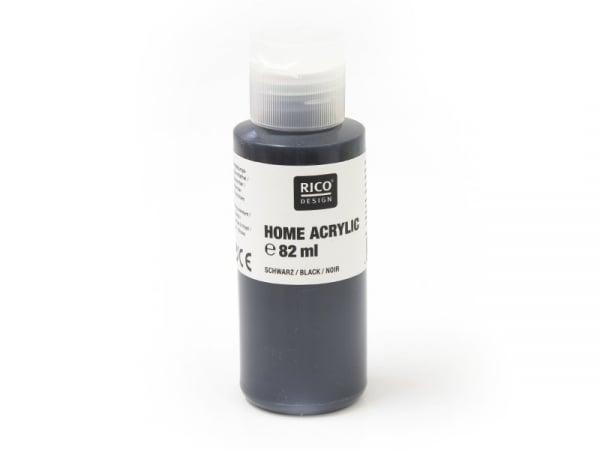 Acheter Peinture acrylique Noir - 82 ml - 4,20€ en ligne sur La Petite Epicerie - Loisirs créatifs