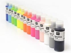 Peinture acrylique Noir - 82 ml