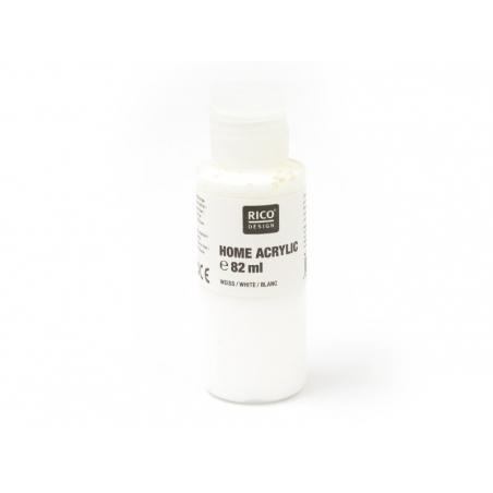 Peinture acrylique Blanc - 82 ml