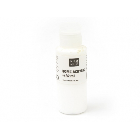 White acrylic paint - 82 ml