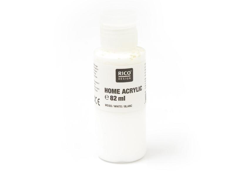 Acheter Peinture acrylique Blanc - 82 ml - 4,20€ en ligne sur La Petite Epicerie - Loisirs créatifs