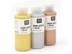 Acrylic paint - Silver - 82 ml