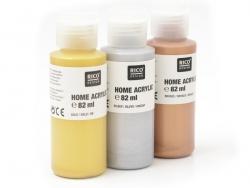Bronze/copper-coloured acrylic paint - 82 ml