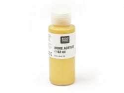 Gold-coloured acrylic paint - 82 ml