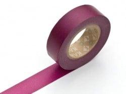 Masking tape uni - Lie de vin
