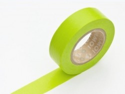 Einfarbiges Masking Tape - apfelgrün