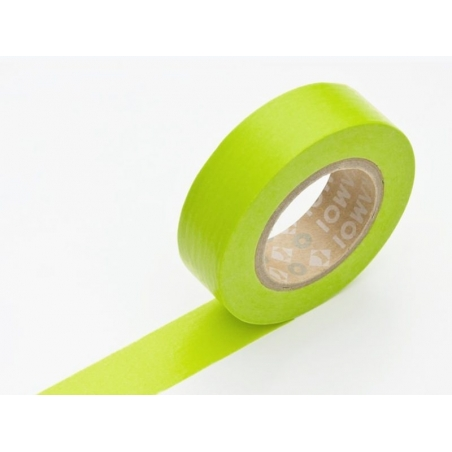 Masking tape uni - vert pomme