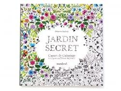 Livre Jardins Secret, carnet de coloriage & chasse au trésor antistress Marabout - 1