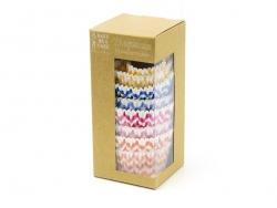 100 Caissettes à cupcakes - Chevrons