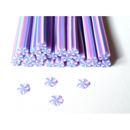 Candy cane - violet