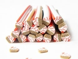 Cane petit cupcake avec coeur