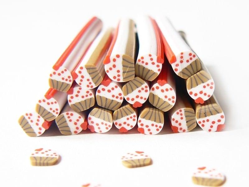 Cane petit cupcake avec coeur  - 1