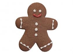 Biscuit cutter - Gingerbread man, 12.5 cm
