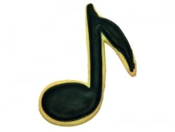 Ausstechform - Musiknote