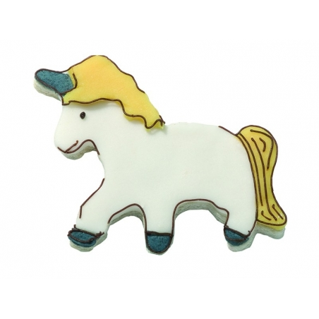 Biscuit cutter - Unicorn