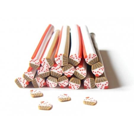Acheter Cane petit cupcake avec coeur - 0,49€ en ligne sur La Petite Epicerie - Loisirs créatifs